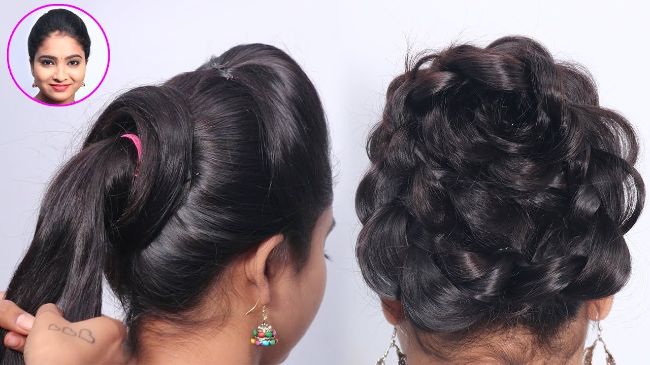 3 Easy Hairstyles For Wedding Guest Simple Hairstyle Hair Style Girl Updo Hairstyles Youtube