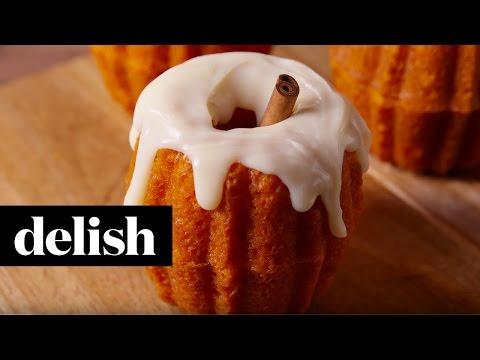 Nina Jackson - Halloween Recipe: Chocolate Filled Pumpkin Cupcakes