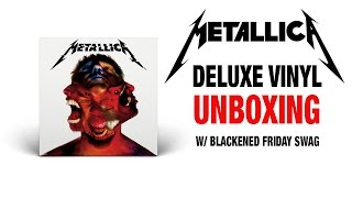 Metallica - Hardwired...To Self Destruct - 3 LP Deluxe Vinyl Boxset Unboxing!