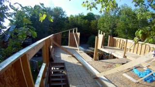 Prep For 4th Floor Build - 39 - My Garage Build Hd Time Lapse