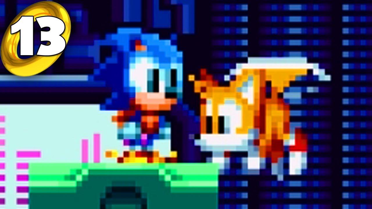 Sonic Mania Cooperativo - ¡Mini Sonic y Tails! (Parte 13)