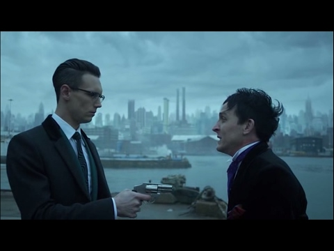 Gotham - The Riddler kills Penguin
