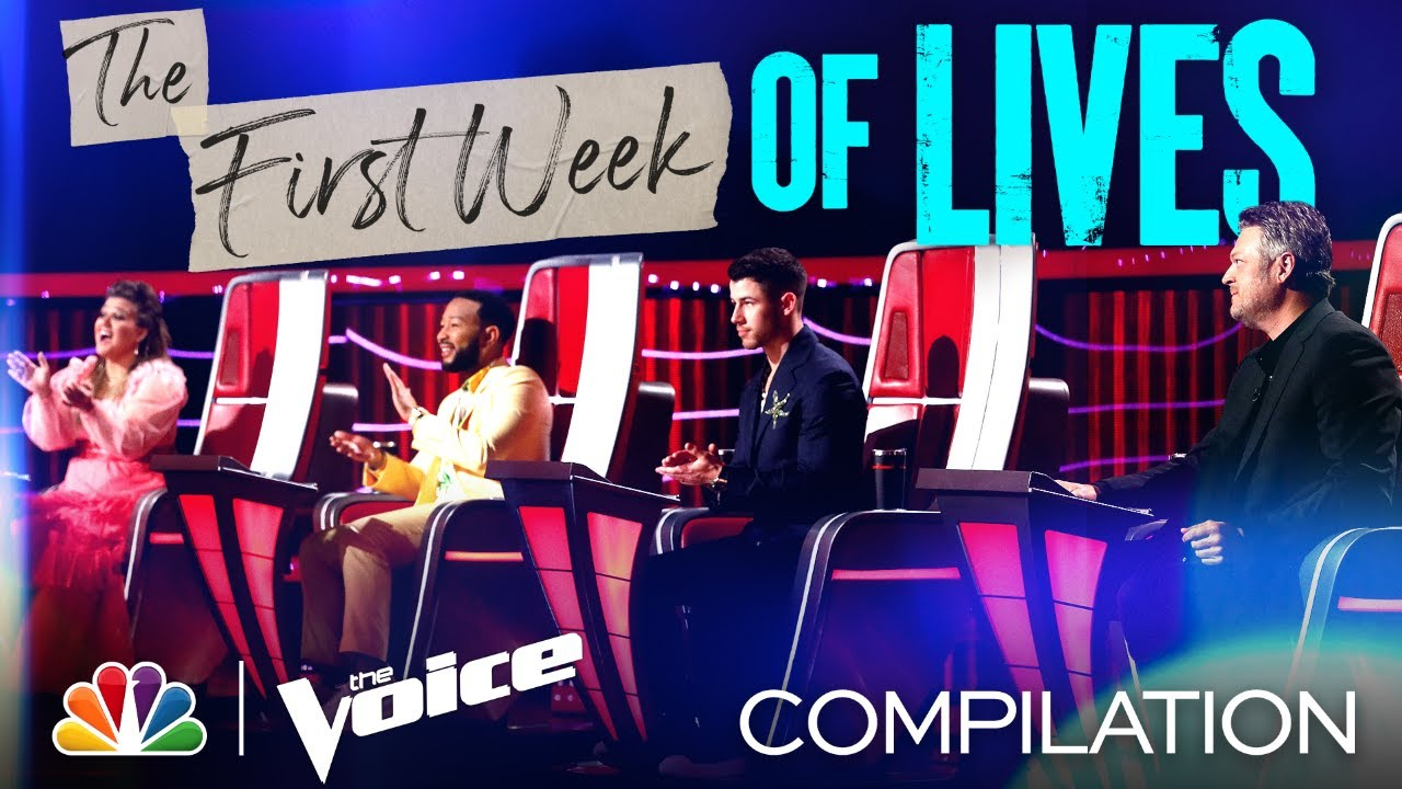 The Best Performances from the First Week of the Live Shows - The Voice 2021