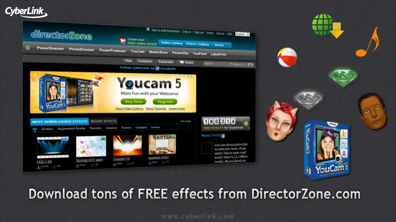 cyberlink youcam 5 free download for windows 7 full version