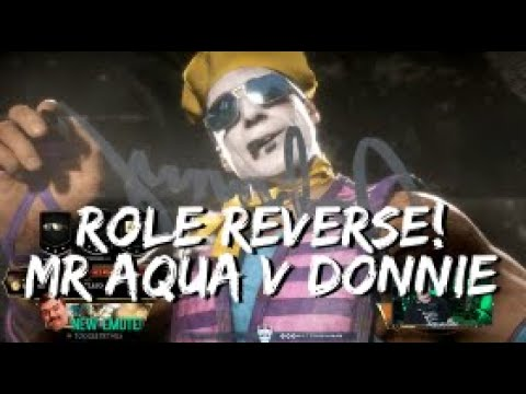 Mr Aquaman (Johnny) V Donnie (Kotal) - Role Reverse!