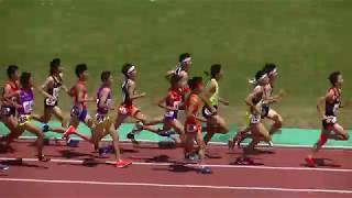 20180526北九州市小中学生記録会 中学3年男子1500m最終組