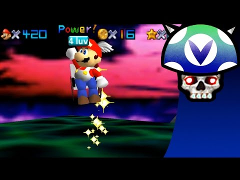 [Vinesauce] Joel - Super Mario 64 Hacks ( Wheelchair Mario Ending )