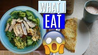 WHAT I EAT IN A DAY| Kenzie Borowski