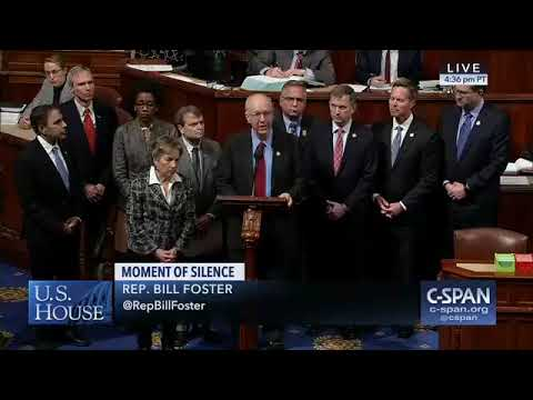Foster Leads Congress In Moment Of Silence To Honor Victims Of Henry Pratt Plant Shooting