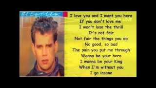 Al Corley - Hungry For Your Love ( + lyrics 1984)