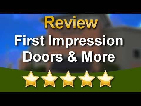 First Impression Doors More West Palm Beach Superb Five Star Review By Stephanie K