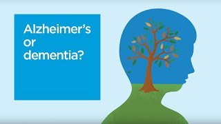 The difference between Alzheimer's and dementia