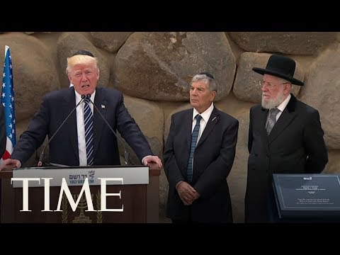 Download Youtube: President Trump At Yad Vashem During Israel's Holocaust Museum & Memorial Visit | TIME