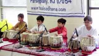 Guru Purnima : 1st Tabla recital (Aarjun B - 2014)