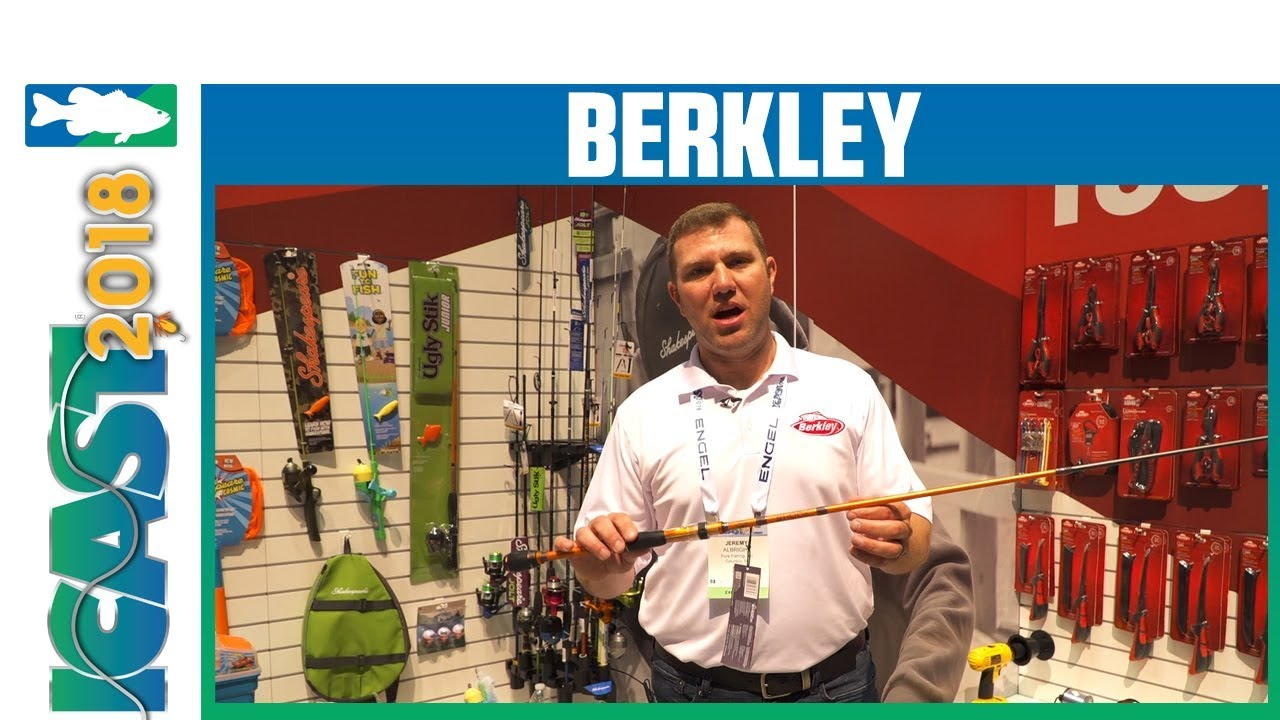 ICAST 2018 Videos - Berkley Shock Casting and Spinning Rod