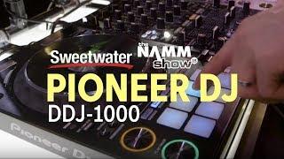 Pioneer DJ DDJ-1000 4-deck rekordbox DJ Controller at Winter NAMM 2018