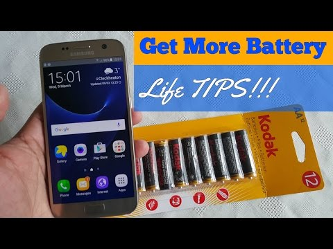 Samsung Galaxy S7/S7 Edge (Battery Power Saving Tips)
