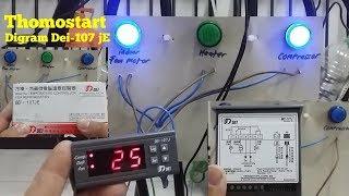 Digital temprature controller DEI-107JE, DIY.