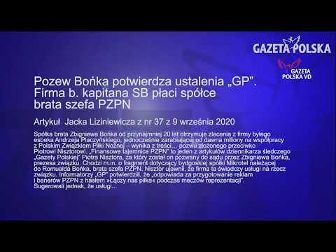 """Artykuł z nr 37 Gazety Polskiej z 9 września 2020, Pozew Bońka potwierdza ustalenia """"GP""""."""