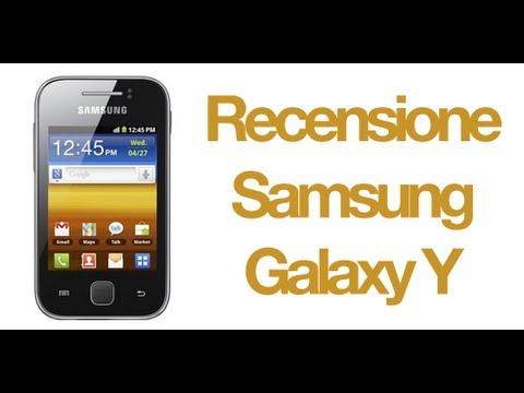 Samsung Galaxy Y, recensione in italiano by AndroidWorld.it