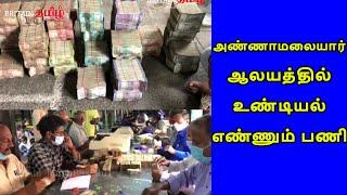 Thiruvannamalai | அண்ணாமலையார் ஆலயத்தில் உண்டியல் எண்ணும் பணி.. | Britain Tamil Bakthi