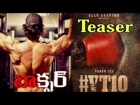 "Varun Tej New Movie "" Boxer "" Motion Poster Teaser   #VarujTej   #VT10   Mks Creations"