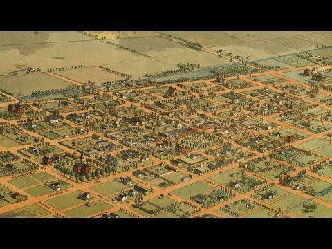 Phoenix Arizona History and Cartograph (1885)