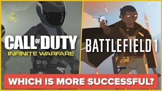 Call of Duty Infinite Warfare VS Battlefield 1 (COD IW vs BF1) - Video Game / FPS Comparison