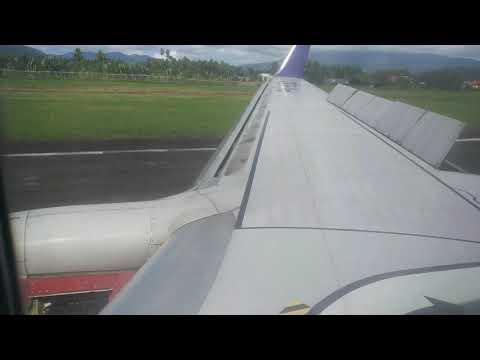Landing At Menado With Batik Air ID6270