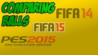 FIFA vs PES - Fifa 14, 15 and PES 2015 gameplay