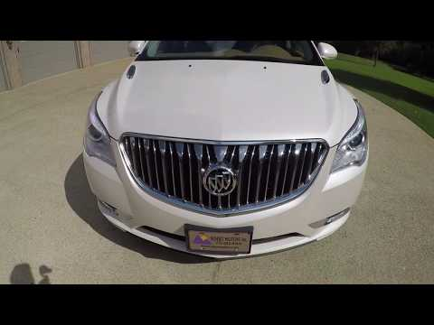 West TN 2015 Buick Enclave AWD Pearl White Loaded Used For Sale Info Www Sunsetmotors Com 4x4
