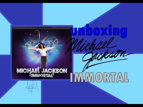 CD Michael Jackson Immortal: DELUXE EDITION - UNBOXING