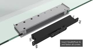 Portapivot GLASS assembly instructions