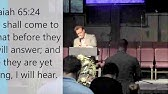 Josh Herring, Evangelist - While I Was Praying - 5-24-17