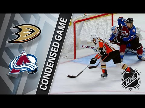 01/15/18 Condensed Game: Ducks @ Avalanche