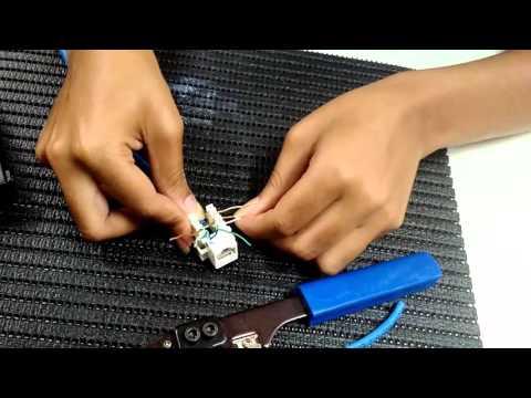 DSUPTEC - Como montar a tomada CAT5E