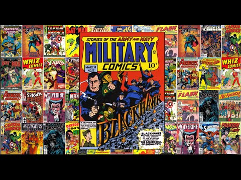 "Blackhawk: Military Comics # 17, ""The Golden Bell Of Soong Toy"""