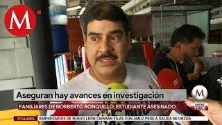 Hay avances en caso Norberto Ronquillo, dice papá tras reunirse con la procuradora