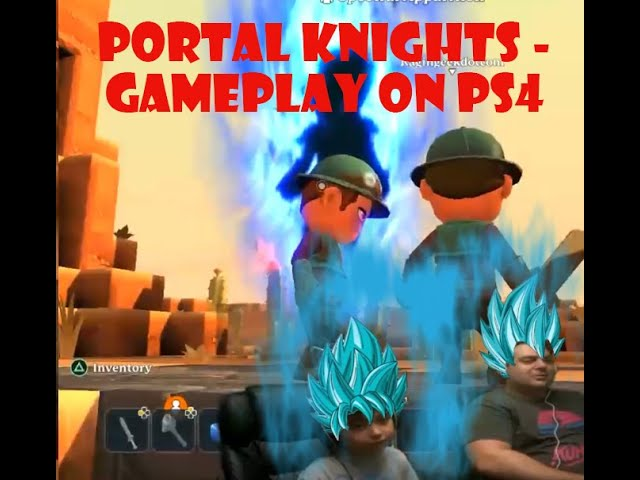 Portal Knights - Gameplay on PS4
