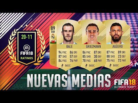 FIFA 18 | MEDIAS OFICIALES 20-11 | MI OPINIÓN