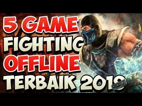 Top 5 Games Fighting Offline Terbaik & Terseru 2019 - Game Berantem Perang Terkeren Mobile - 동영상