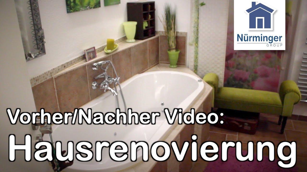 Hausrenovierung zwischen Nürnberg und Ansbach - Umbau Video - YouTube