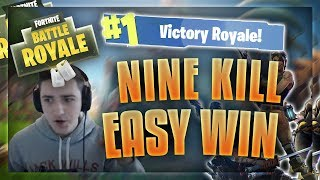 9 Kill Fortnite Win (Stream Highlights #1)
