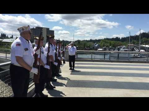 Olympia service honors American service members lost at sea