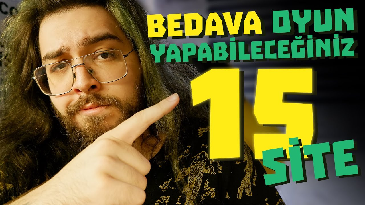 BEDAVA OYUN YAPABİLECEĞİNİZ 15 SİTE!