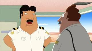 Bordertown | Bud catches El Coyote (Taco scene)