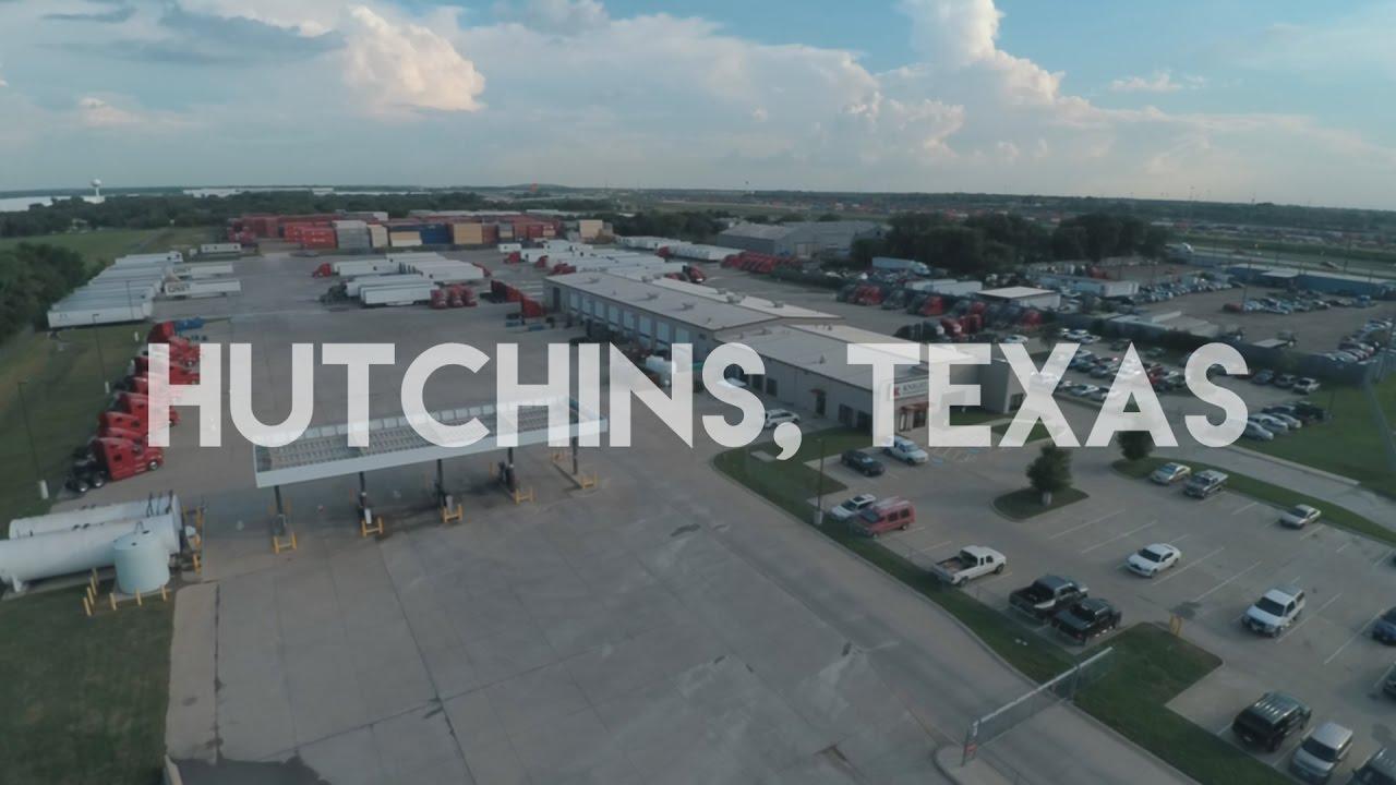Knight Transportation Hutchins, Texas Terminal Tour - YouTube