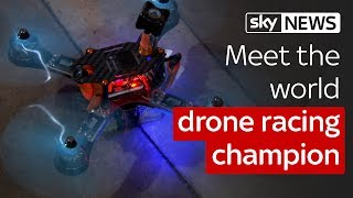 Swipe | World drone racing champion & gaming to save the ocean