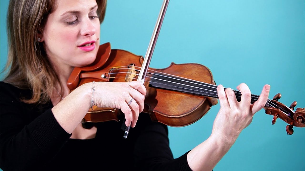 How to Play Canon in D   Violin Lessons