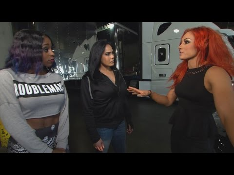Becky Lynch is attacked before Raw